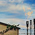 Methane Flares by MJ Olsen