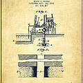 Method Of Drilling Wells Patent From 1906 - Vintage by Aged Pixel