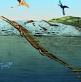 Metriorhynchus, Jurassic Marine Reptile by Science Source