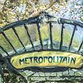 Metro Abbesses by Liz Leyden