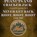 Mets Peanuts And Cracker Jack  by Movie Poster Prints