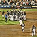 Mets Take Nl 2006 by Chuck Kuhn