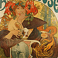 Meuse Beer by Alphonse Marie Mucha