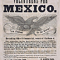 Mexican American War Flyer by Andrew Fare