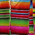 Mexican Blankets Cancun by John  Mitchell