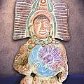 Mexican Clay Artwork by Linda Phelps