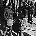 Mexican Day Armory Park Tucson Arizona 1973 by David Lee Guss