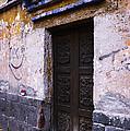 Mexican Door 34 by Xueling Zou