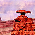 Mexican Hat Rock by Bob and Nadine Johnston