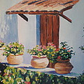 Mexican Pots by Lee Riggs