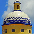 Mexican Rotunda Of Puerta Maya In Cozumel Mexico by Michael Hoard