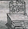 Mexico - Skull Rack by Granger