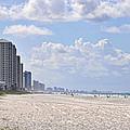 Mexico Beach Coastline by Kenny Francis