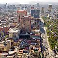 Mexico City Cityscape by Jess Kraft