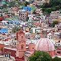Mexico, Guanajuato, View Of Guanajuato by Hollice Looney
