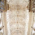 Mezquita Cathedral Ceiling In Cordoba by Artur Bogacki