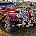 Mg Model Tf 1953 And Ford Model A 1928 Roadsters by Tony Crehan