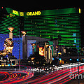 Mgm Grand Hotel And Casino by Eddie Yerkish