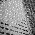 Miami Architecture Detail 1 - Black And White by Ian Monk