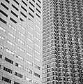 Miami Architecture Detail 2 - Black And White by Ian Monk