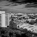 Miami Beach - 0153bw by Rudy Umans