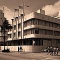 Miami Beach - Art Deco 35 by Frank Romeo