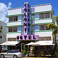 Miami Beach - Art Deco 37 by Frank Romeo
