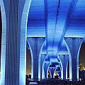 Miami Bridge by Peter Dombrowski