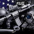 Miami Dade Police by Gary Yost