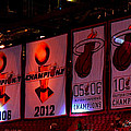 Miami Heat Banners by J Anthony