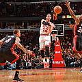 Miami Heat V Chicago Bulls by Jesse D. Garrabrant