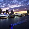Miami Night by Ramunas Bruzas