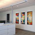 Miami Rythym Triptych by Sheila Elsea