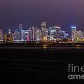 Miami Skyline Bay View by Rene Triay Photography