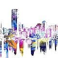 Miami Skyline by Doc Braham