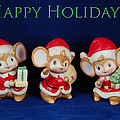 Mice Holiday by Aimee L Maher ALM GALLERY