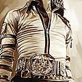 Michael Jackson Artwork 2 by Sheraz A