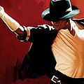 Michael Jackson Artwork 4 by Sheraz A