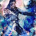 Michael Jackson Original Painting  by Ryan Rock Artist