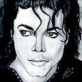 Michael Jackson Portrait by Alban Dizdari