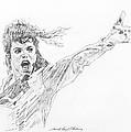 Michael Jackson Power Performance by David Lloyd Glover