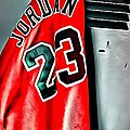 Michael Jordan 23 Shirt by Florian Rodarte