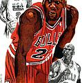 Michael Jordan by Cory Still