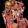 Michael Jordan by Israel Torres