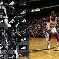 Michael Jordan Shoes by Joe Hamilton