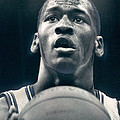 Michael Jordan Shots Free Throw by Retro Images Archive