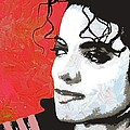 Michael Red And White by Linda Mears