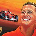 Michael Schumacher 2 by Paul Meijering