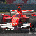 Michael Schumacher Canadian Grand Prix I by Clarence Holmes