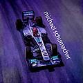 Michael Schumacher by Marvin Spates